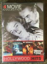 ** 4 Horror Movie Collection, Hollywood Hits, DVD, brand new, factory sealed!