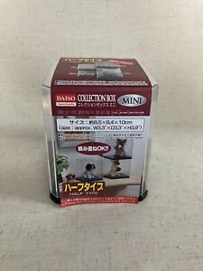 Collection case mini, Daiso, made in Japan, a box for display of mini figure