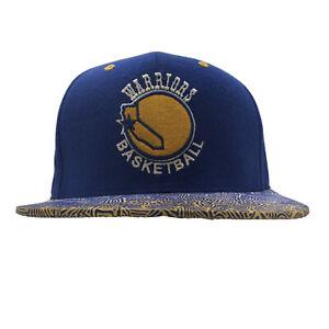 NBA Mitchell & Ness Golden State Warriors Basketball Snapback Hat Cap *READ*