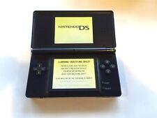 Nintendo DS Lite Original Handheld System Games Console Navy Blue + Charger
