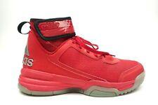 Adidas TechFit Dual Threat Hi-Tops Sneakers Red Size: US 6.5 Mens