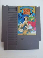King's Knight (Nintendo NES, 1989) Game Only--Tested (NTSC/US/CA)