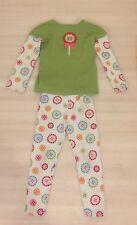 Gymboree Girls 2 Piece Flower Set- Fall Shirt And Pants Size 5