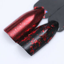 BORN PRETTY Nail Sequins Glitter Powder Colorful Irregular Paillette Flakes Tip