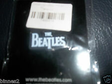 THE BEATLES BLACK AND WHITE APPLE CORP  METAL BROOCH-BADGE-PIN BRAND NEW