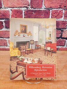 Williamsburg Restoration Reproductions Catalog, Craft House, 1956
