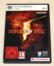 Resident Evil 5-PC DVD-FSK 18