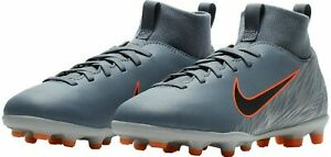 New In Box $50 Nike Soccer Jr. SUPERFLY 6 CLUB FG Youth cleat AH7339-408 size 2Y