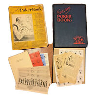 Webster's Poker Book, Complete W DJ, First Edition, Gambling, 1925