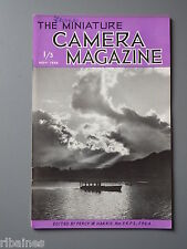 R&L Vintage Mag, The Miniature Camera November 1952, Langham Ultralite 300