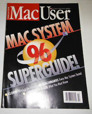 MacUser Magazine Mac System Superguide February 1996 071314R