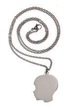 Plain Silhouette Boy Necklace