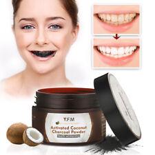 Menthe Poudre de charbon actif dent blanche Blanchissante des dents naturel