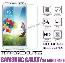 PELLICOLA IN VETRO TEMPERATO x SAMSUNG GALAXY S4 MINI i9190 i9195 TEMPERED GLASS
