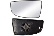 Ford Transit Wing Mirror Glass N/S + Backing Plate Small Lower  MK8 2014 Onward