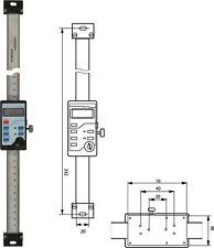 Digitaler Anbaumessschieber vertikal 200 mm Einbaumessschieber 01-05-02-200-0