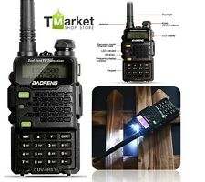 Portable Two Way Radio Scanner Ham Walkie Talkie Transceiver Police EMS UHF/VHF