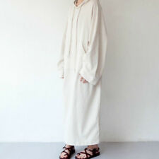Lady Long Loose Hoodie Dress Oversized Blouse Baggy Pullover Sweatshirt Fashion