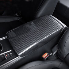 Carbon Fiber Style Center Console Armrest Decorate Trim For Honda Accord 2018