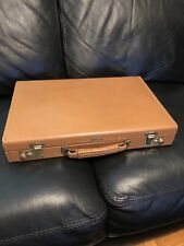 Vintage Leather Attache Case by Leeds Fifth Ave New York