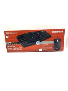 Microsoft Wired Desktop 500 Keyboard and Optical Mouse New and Sealed in Box