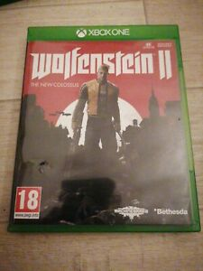 WOLFENSTEIN 2 THE NEW COLOSSUS 18 XBOX ONE 4K version anglaise