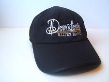Downtown Blues Band Hat Dark Hook Loop Baseball Cap