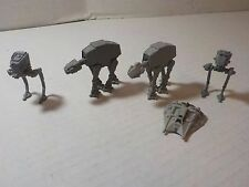 MICRO MACHINES STAR WARS Vintage Lot Battle of Hoth AT-AT AT-ST SNowspeeder