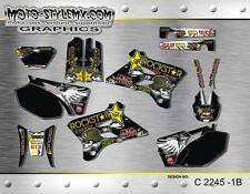 Yamaha WR250f WR450f 2003 2004 graphics decals kit Moto StyleMX