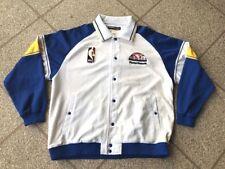 Rare Denver Nuggets Men's NBA Vintage Reebok Hardwood Classics Jacket 2XL XXL