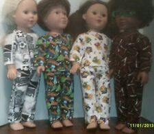 "18/""Doll Clothes made to fit A Girl//Boy My Life etc Lot 0f 7-Tops//Pants  Y13"