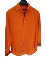 Mens chic LONDON by BURBERRY long sleeve shirt size large/XL. RRP £195.