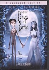 Tim Burton's Corpse Bride (DVD, 2005, Widescreen)