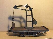 Original 1903 LIONEL #500 Motorized 2 78 standard gauge DERRICK Crane Car