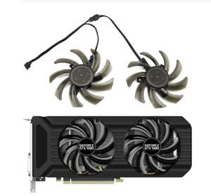 Fan For Palit GeForce GTX1060 GTX1080 GTX1070Ti 8G Dual GA91S2U GA91S2H Set Fans