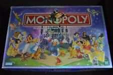 Monopoly The Disney Edition 2001 Hasbro Board Game - Complete Set ORIGINAL OWNER
