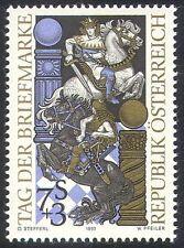 "Austria 1993 Stamp Day/Horses/Knights/Chess/""i's"" Design/Sport/Games 1v (n32008)"