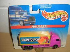 NEW Sweet RARE 1996 Hot Wheels Haulers Jolly Ranchers Delivery Semi Truck