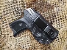 Gunner's Custom Holster Ruger LC9 LC380 LCP LCR IWB Holster Tuckable Adjustable