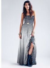 Nwt Rare Anthropologie Free People Eva Franco Michelle Pleated Striped Maxi 12