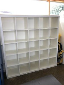 ikea cube storage units 5 X 5