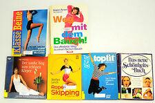 Bücherpaket: 6x Topfit/Rope-Skipping/Klasse Beine/Weg mit dem Bauch/Der sanfte W