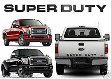 Piano Black Super Duty Tailgate Letters For 2008-2016 F-250/F-350/F-450 New