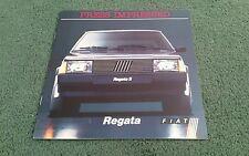 1984 /  1985 FIAT REGATA PRESS IMPRESSED - UK BROCHURE