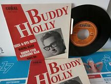 """buddy holly""""rave on""""ep7""""or.fr.1964.coral:94607.languette + 1/2éme pochette promo"""