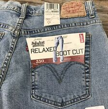 Levi Strauss & Co. Misses Relaxed Bootcut 550 Stretch Denim Jeans Sz 10
