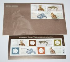 Canada - Endangered Species, 2006 - First Day Cover & Mini Sheet