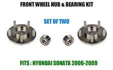 Front Wheel Hub & Bearing Kit Assy For Hyundai Sonata 2.4L 4CYL 2006-2009  2 PCS
