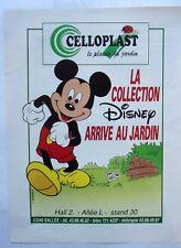 page de publicite  COLLECTION DISNEY en CELLOPLAST   en  1991    ref. 53301