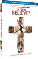 Do You Believe? BLU-RAY+DVD Religious Christian Spiritual NEW Free Shipping